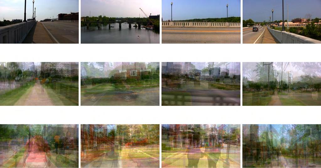Part I: Cities, 2011, forward, left, right, and rear video