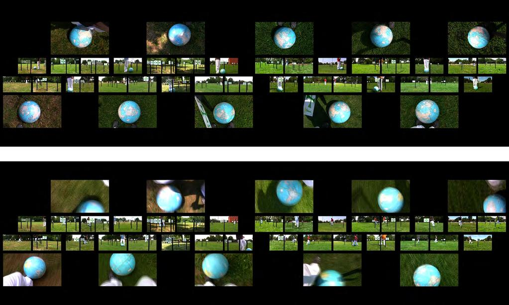 Part II: Parks, 2011, video stills of two