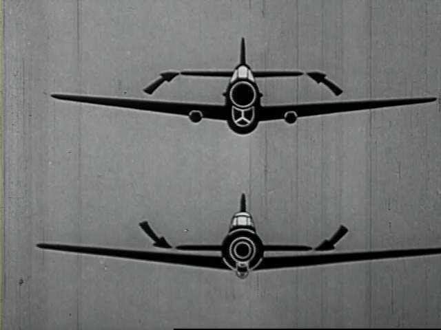 Kadar iz filma Recognition of the Japanese Zero Fighter (1943.).
