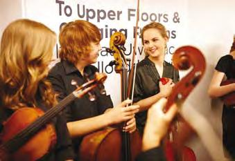 From their very first steps in music through to intensive preparation for conservatoire-level training, the Junior Conservatoire offers opportunities for children and young people to learn in a