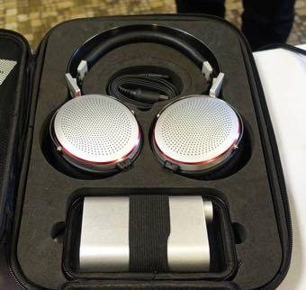 KingSound showed their latest and most beautifully made electrostatic headphone, and with a difference.