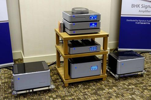 The PS Audio stack Signature Audio Systems also fielded Dali