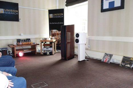 Henley Once again it proved hard not to show off the articulate Roksan Darius, the integral stand mount loudspeaker in the