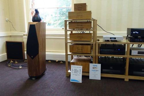 KOG partnered with DCS showing the latest DCS Rossini digital audio components including that tasty 18,000 CD player.