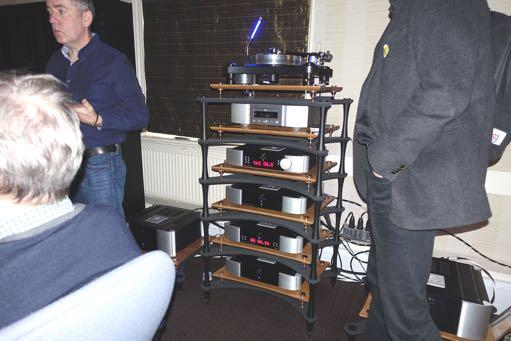 The high end Moon Audio stack which KEF used for the Muon demo, which material included visitor s LPs.