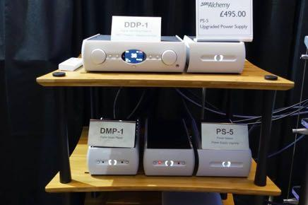 While he is an electronic design major on the upmarket Constellation team, here he played his Audio Alchemy DPA-1 power amplifier; a Class D type that he was sure would alter my thinking on this