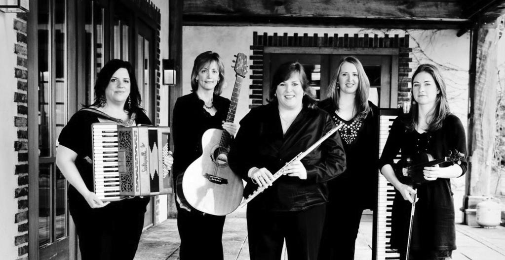Alessandro Tosto Cherish the Ladies Celtic Christmas Joanie Madden flute, whistle, vocals Mary Coogan guitar, mandolin, banjo Mirella Murray piano, accordion Grainne Murphy fiddle Kathleen Boyle