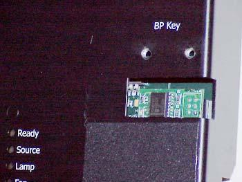 If the key is installed incorrectly, the entire electronics module may not function at all. 2.