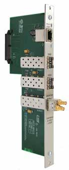Redundant, Isolated Power Busses Each UTAH-400 Series 2 router includes two fully isolated and redundant busses to feed each individual module including input, output, and crosspoint cards.