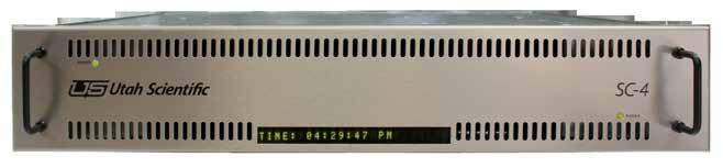 Control, configuration and monitoring Controlling your UTAH-400
