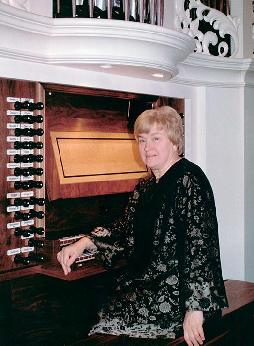 Princeton Theological Seminary joins the American Guild of Organists in honoring Joan Lippincott JOAN LIPPINCOTT