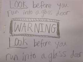 The Time When My Dad Bumped Into a Glass Door By Ashley Gaudio Before I was born my dad and my mom went to my greatgrandmother s house.