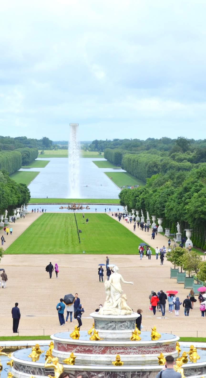 In the Gardens of Versailles sits the Latona
