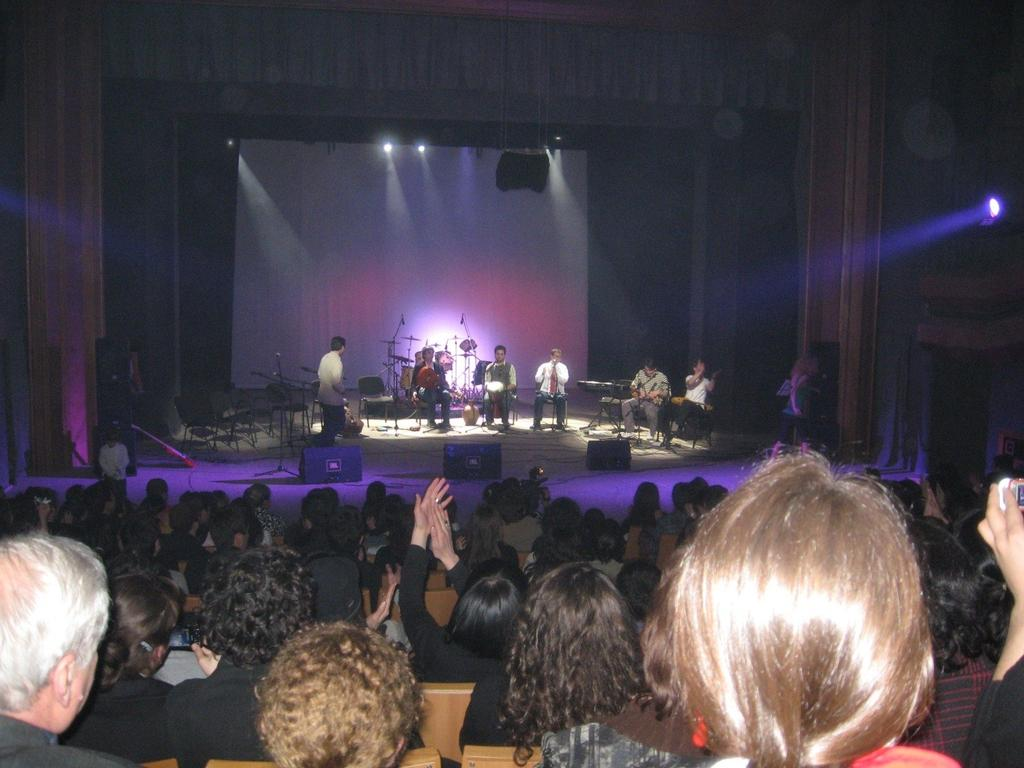 3.17. The band Mgzavrebi performing at the Children s Theater in 2008.