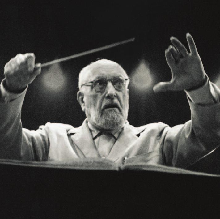 PHOTO : DECCA Ernest Ansermet The great Swiss conductor Ernest Ansermet was a significant figure in the world of music from 1915 until 1968.