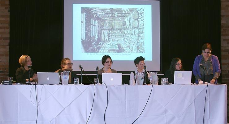 Panelists discuss contemporary implications of collecting, curiosity, and wonder.