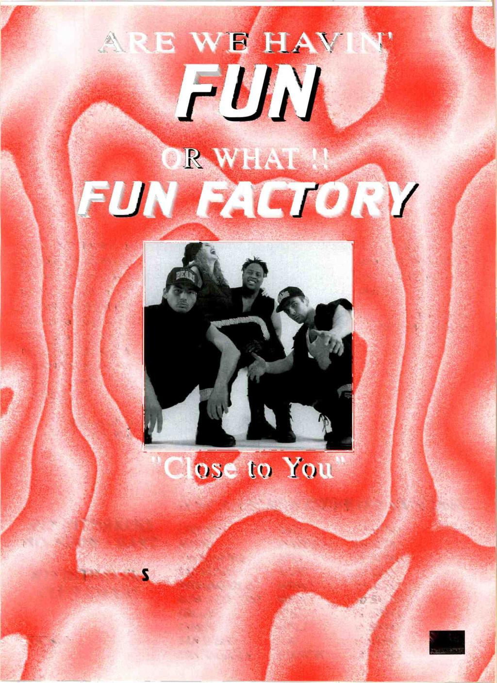 EAT 1 /1,--T/1 /PArti:4)7 FUN FACTORY is completely blown up for us.