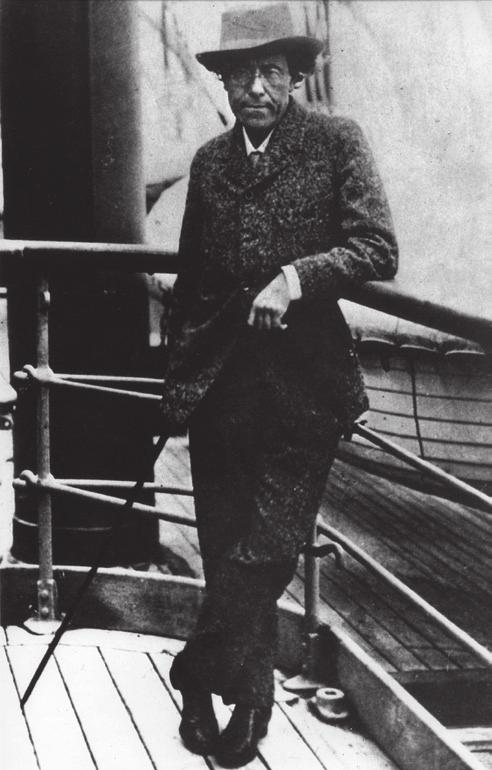 Photograph of Mahler aboard SS Amerika during his final crossing from New York to Europe in the spring of 1911 sparsely attended production of Beethoven s Fidelio, and then went to Saint Petersburg