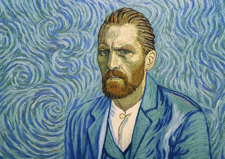 LOVING VINCENT is billed as the world s first fully painted feature film, and I have no reason to doubt the claim.