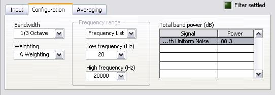 acoustic measurements) and arbitrary frequency ranges (such as 0.5 Hz to 80 Hz for human vibration measurements). Figure 1-18.