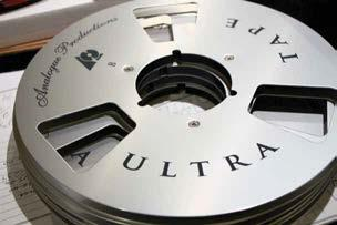 Perhaps the best endorsement for reel-to-reel tape as a viable playback format has been a growing number of vendors offering 15 ips 1/4-inch tape Each tape is transferred real-time, using