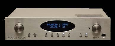 Boasting terrific specs and fully featured, the RP-1 is the new benchmark for an entry level tube preamplifier. RP-1 boasts an impressive list of features.