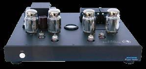 8 POWER AMP POWER AMP The evolution continues. The M1A matches the VTSP-3A tubed line stage preamplifier cosmetically and is available in silver or black.