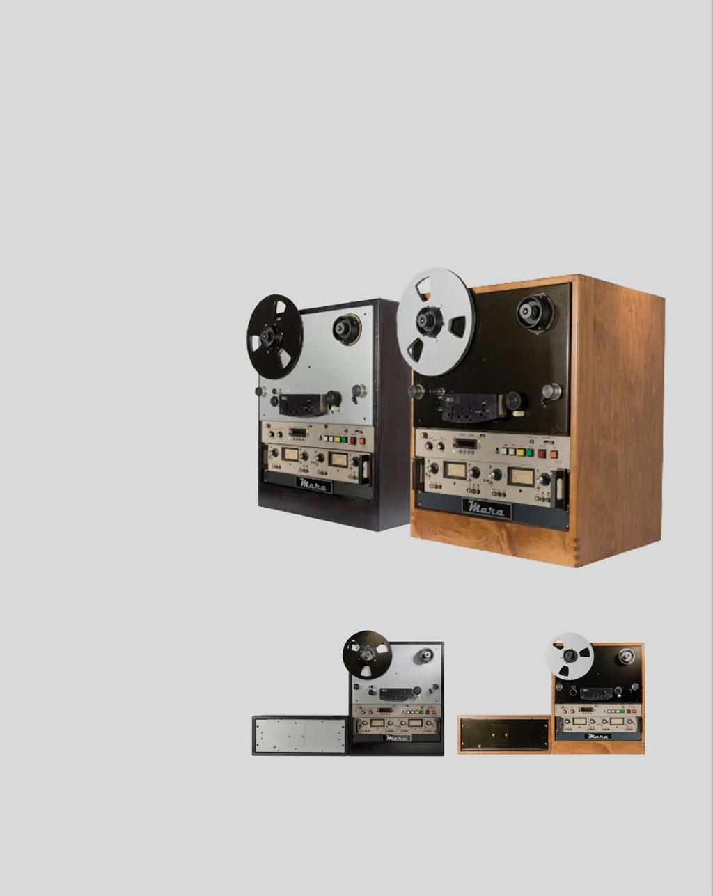 REEL-TO-REEL TAPE MACHINES / EQUIPMENT F I N A L L Y, S T U D I O P E R F O R M A N C E R I G H T I N Y O U R L I S T E N I N G R O O M MCI tape machines are simplistic in design, but most