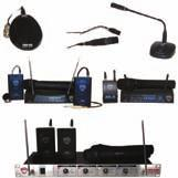 Multi-channel 401 XQuad Rackmount Wireless System 4 VHF Wireless systems in one all metal chassis Front Antenna jacks for either on-board or remote antennas Balanced XLR outputs on each channel