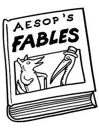 Who is Aesop? Aesop was a slave and story teller believed to have lived in ancient Greece between 620 and 560 BC. He is credited with wri ng the Aesopica, a collec ons of stories and fables.
