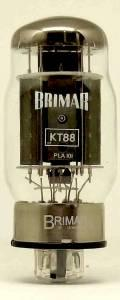 Page 7 of 10 Brimar thermionic products KT88 is a beam tetrode that has been selected for its sonic purity, and is most suitable for audio Hi-fi pow er amp applications.