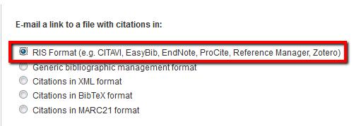 Importing Search Results from Web of Science This is the recommended way to put citations into your EndNote library.