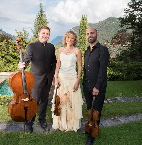 Ayriel Trio Ambra Albek, Violin Simone Gramaglia, Viola Jamie Walton, Cello The Ayriel String Trio was founded in 2016 with the goal of exploring the