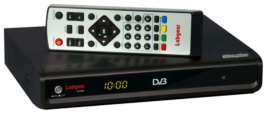 FV400 DIGITAL TV RECEIVER WITH MODULATOR INSTRUCTION MANUAL