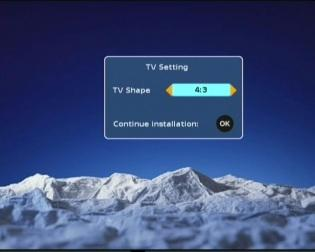 Getting Started Switching on for the first time Turn on your TV set and select the corresponding AV input (with the AV key, or simular, on the television remote control).