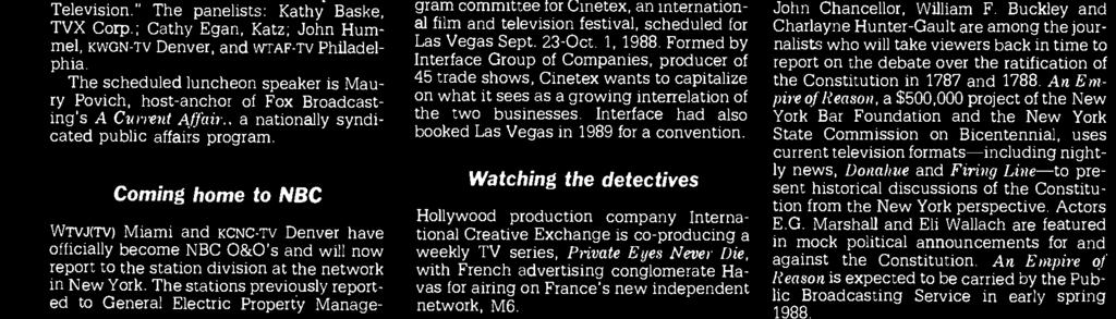 Frmed by Interface Grup f Cmpanies, prducer f 45 trade shws, Cinetex wants t capitalize n what it sees as a grwing interrelatin f the tw businesses.