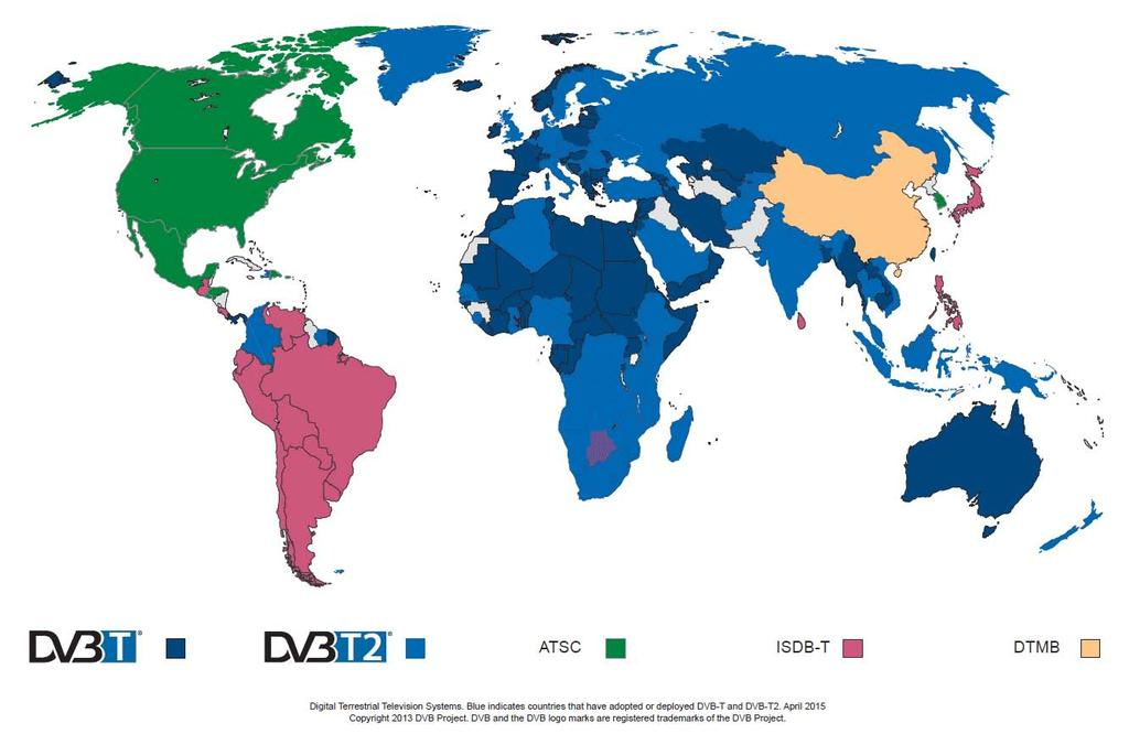 This is the world of terrestrial (TV) broadcast today it is colourful (Source: www.