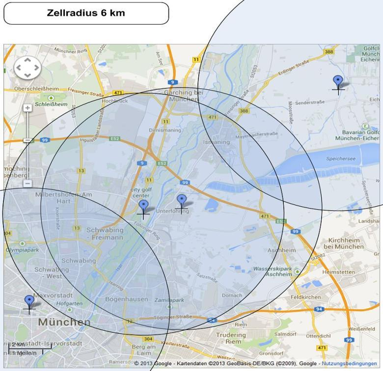 Industry first field trial of embms Single Frequency Network (SFN) in Munich, Germany Implemented with commercially available Flexi enodeb hardware 7,5km 2km 10km Q3/14: field trial start