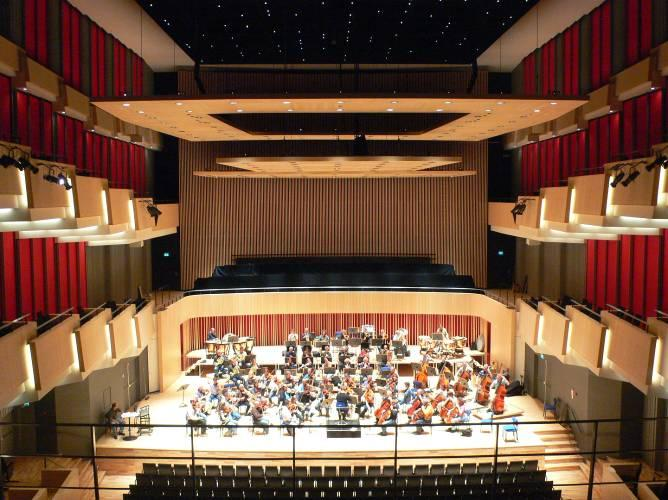 This paper discusses the evolution in taste regarding concert hall acoustics and how this can be reflected in the new halls being built today.