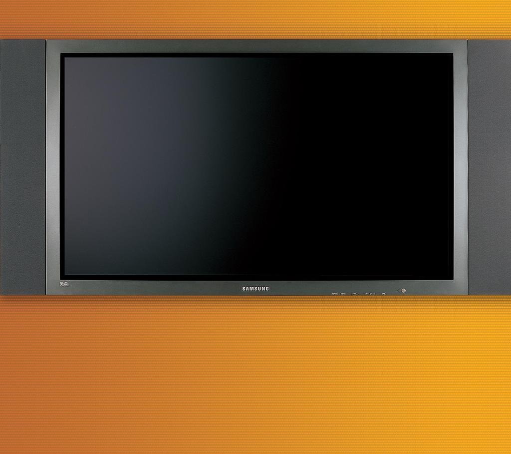 HPN6339 At 63 inches, the world s largest plasma TV is the ultimate home theater screen.