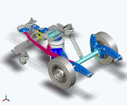 Picture 8: Switching point Technical Manual Position the axle (06/136) in the correct position.