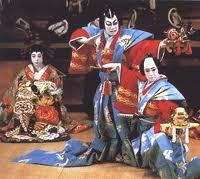 o Often performed outside but usually in a large theatre venue o Actors Shi-te principal actor (centre stage) Costumed in a mask and elaborate costume (5 layers