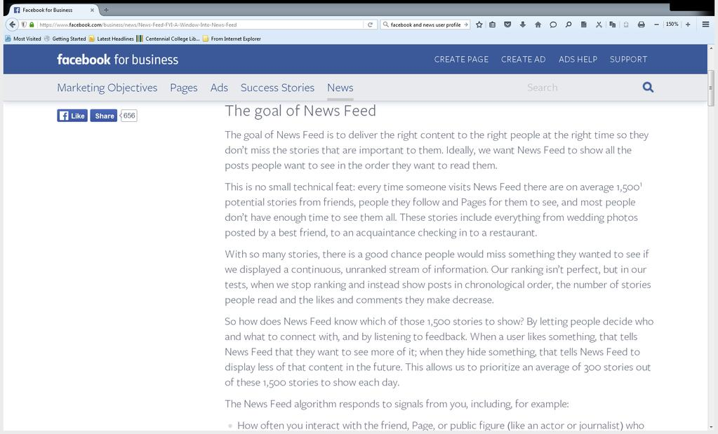 What we do know How Facebook News Feeds work They are