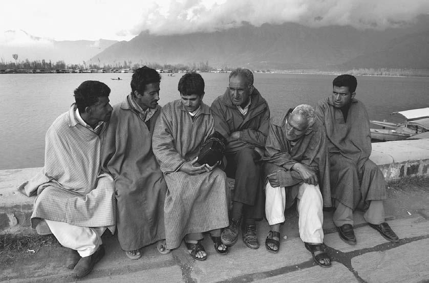 RADIO 137 A group of men in Kashmir, a city situated at the heart of decades of Indian and Pakistan animosity, sit glued to their radio to listen to the two countries battle in a cricket match