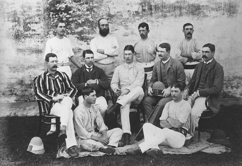 CRICKET 251 The 1st British Royal Welch Fusiliers Cricket Eleven, during their service in India, 1 January 1888.