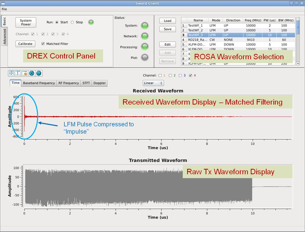 Related Products Figure 13: Applied Radar Client GUI software (included with the system) Customers interested in the SWORD DREX might also be interested in the following Applied Radar, Inc. products.