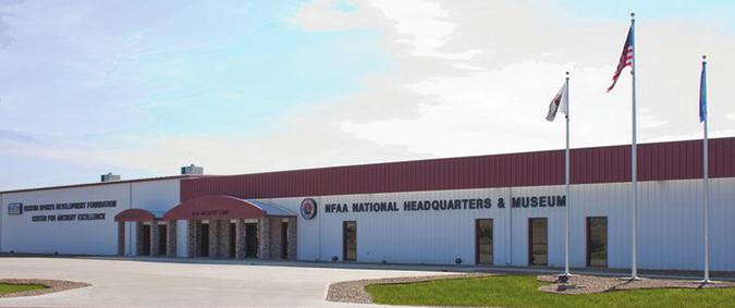 RENTAL SPACES The NFAA Easton Yankton Archery Center is located at 800 Archery Lane on East Highway 50 in Yankton, SD.