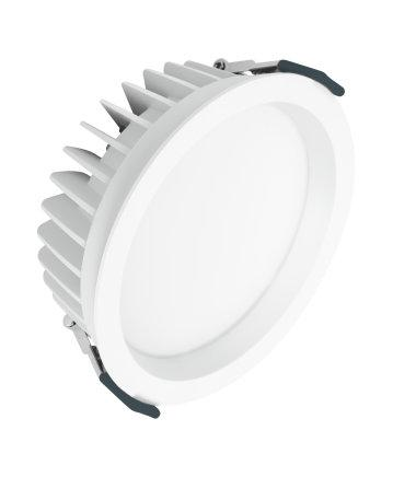 LEDVANCE DOWNLIGHT LED LED downlight luminaires Areas of application _ Direct replacement for luminaires with compact fluorescent lamps _ General illumination _ Public areas _ Stairways _ Corridors _