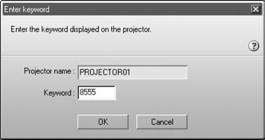 4. Once the name of your projector appears, select it and click Connect. If more than one projector is listed, you can select additional ones and connect to them at the same time.