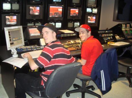 As part of the MORNING PRODUCTION CREW, students will work on our daytime show, LIVE at 11am.